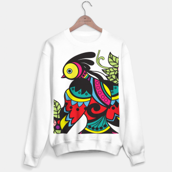Miniature de image de Intricate Birds Sweater regular, Live Heroes