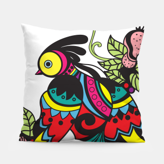 Miniature de image de Intricate Birds Pillow, Live Heroes