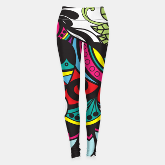 Miniature de image de Intricate Birds Leggings, Live Heroes