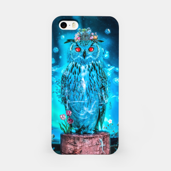 Thumbnail image of Sapphire Owl iPhone Case, Live Heroes