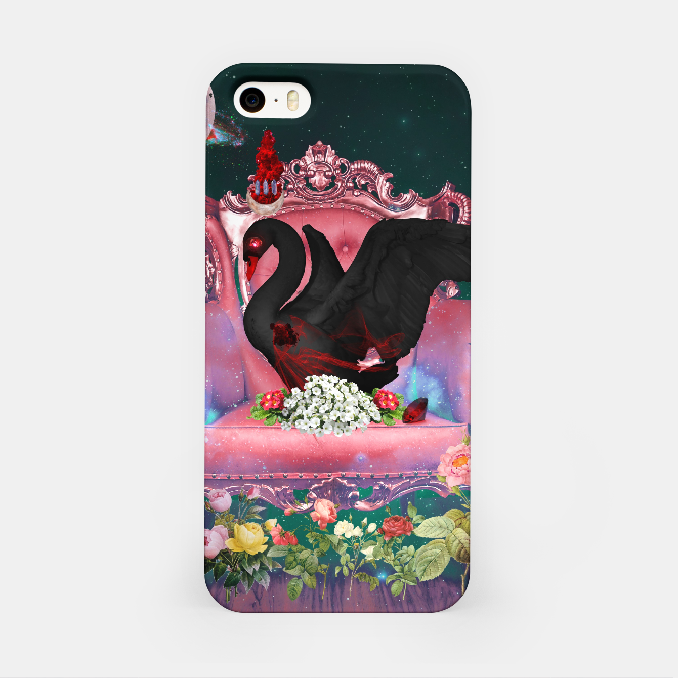 Image of The Dying Black Swan iPhone Case - Live Heroes