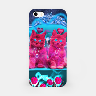 Thumbnail image of The Heart Kittens iPhone Case, Live Heroes