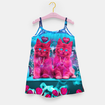 Thumbnail image of The Heart Kittens Girl's Dress, Live Heroes