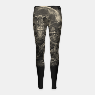 Thumbnail image of Winya No. 119 Girl's Leggings, Live Heroes