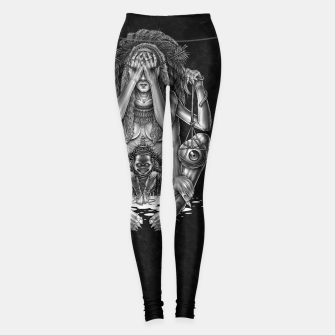 Thumbnail image of Winya No. 120 Leggings, Live Heroes