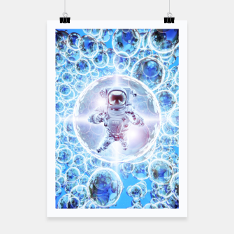 Miniatur Infinite Galaxy Poster, Live Heroes