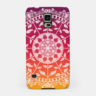 Miniatur Gwias Wildfire Mandala Samsung Case, Live Heroes