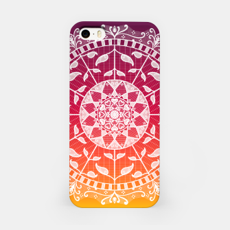Miniatur Gwias Wildfire Mandala iPhone Case, Live Heroes