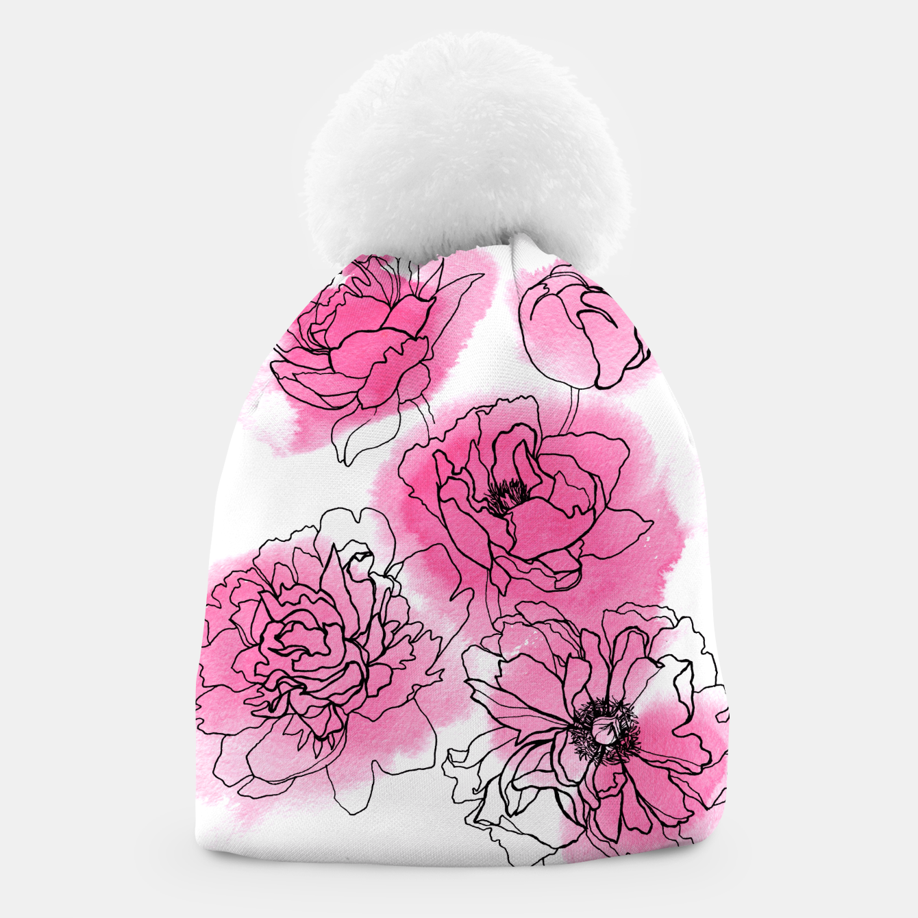 Image of Peony Beanie - Live Heroes