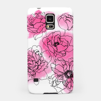 Thumbnail image of Peony Samsung Case, Live Heroes