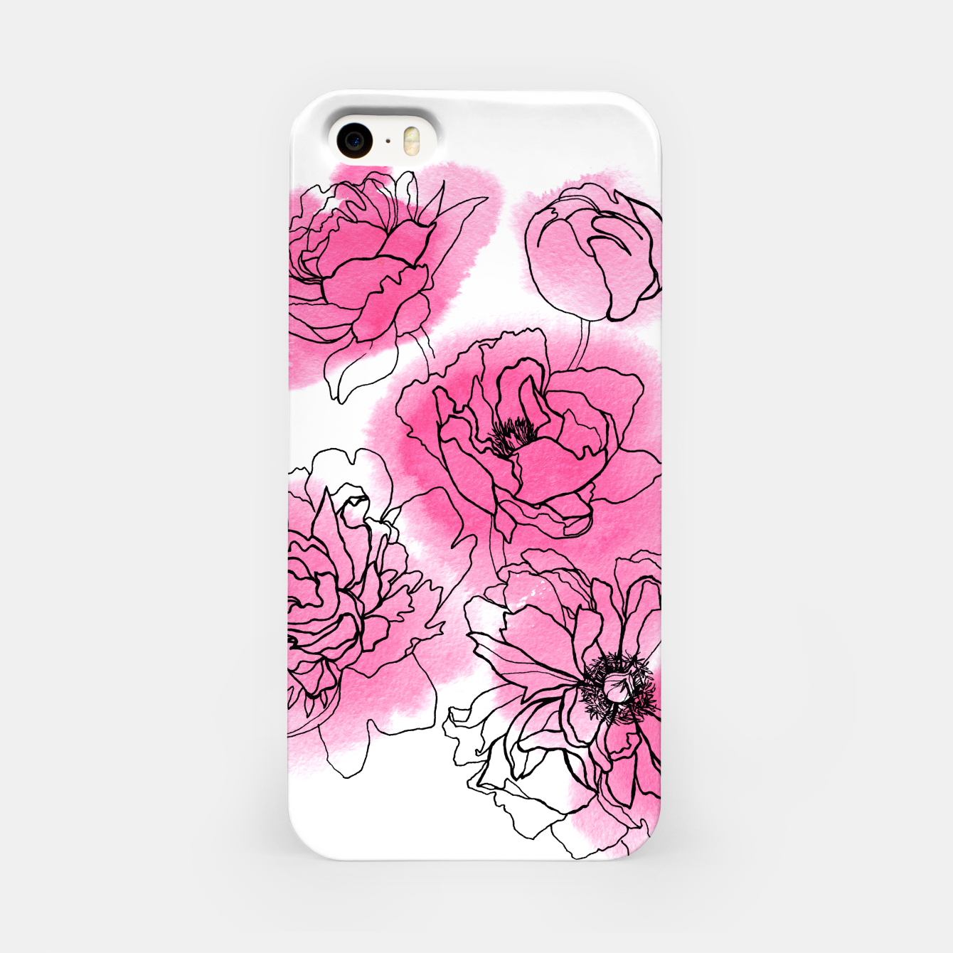 Image of Peony iPhone Case - Live Heroes