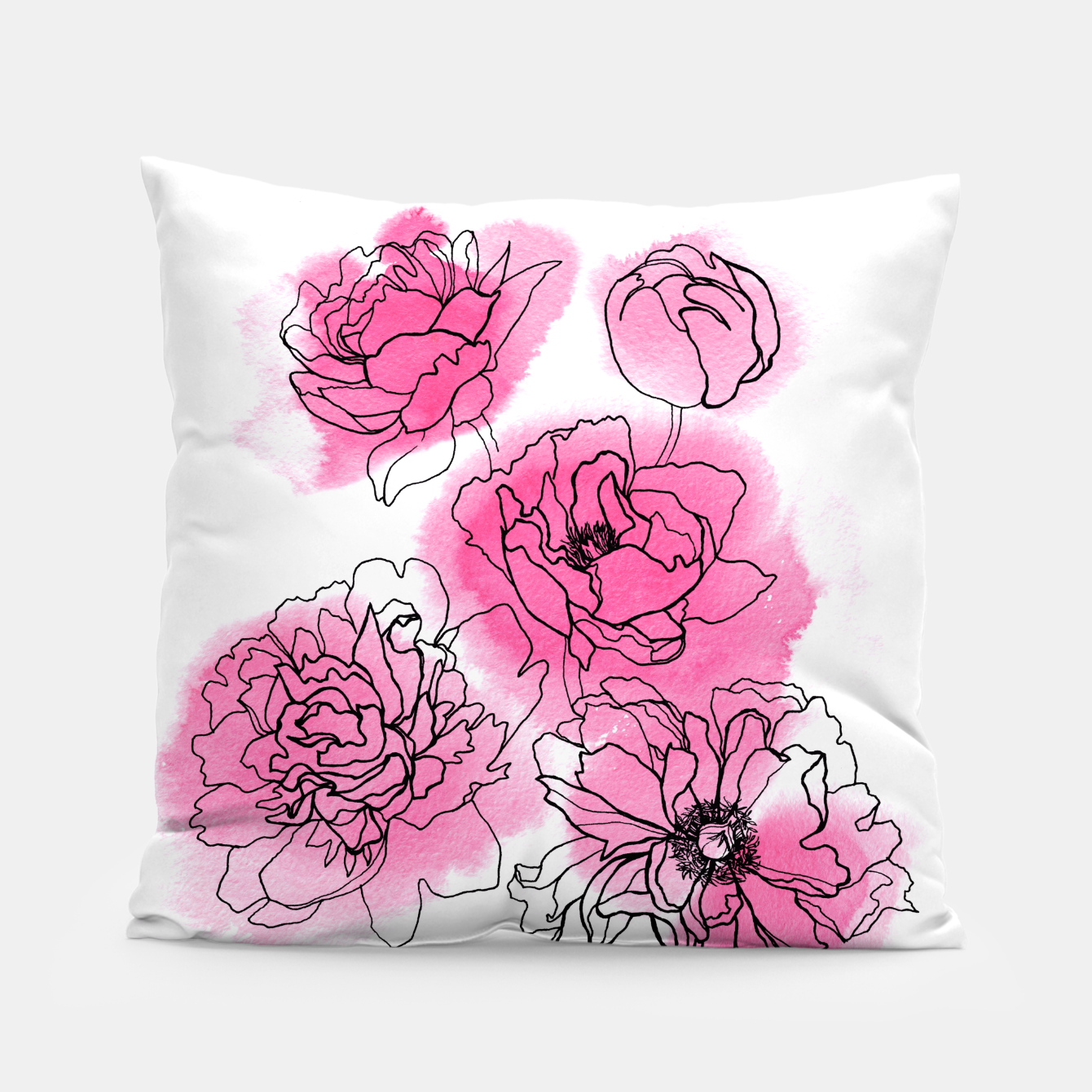 Image of Peony Pillow - Live Heroes