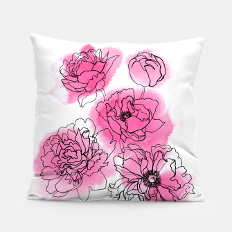 Thumbnail image of Peony Pillow, Live Heroes
