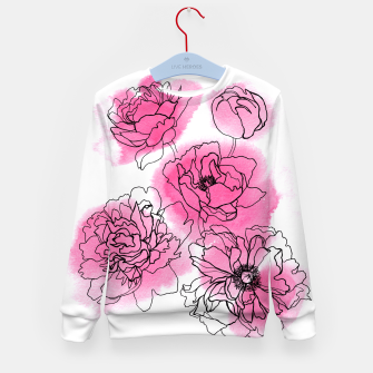 Thumbnail image of Peony Kid's Sweater, Live Heroes