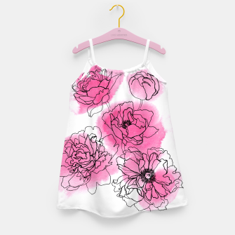 Thumbnail image of Peony Girl's Dress, Live Heroes
