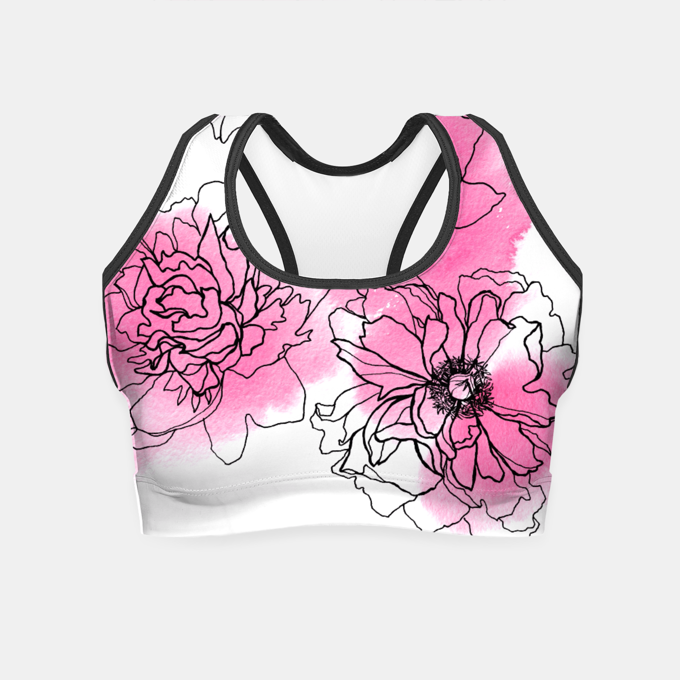 Image of Peony Crop Top - Live Heroes