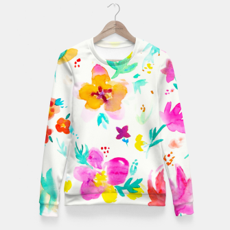 Thumbnail image of A Little Tropical Fitted Waist Sweater, Live Heroes
