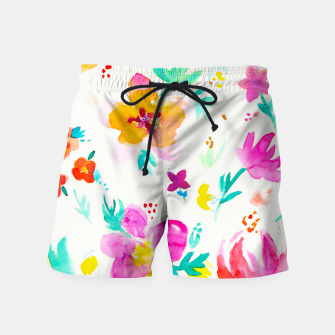 Thumbnail image of A Little Tropical Swim Shorts, Live Heroes