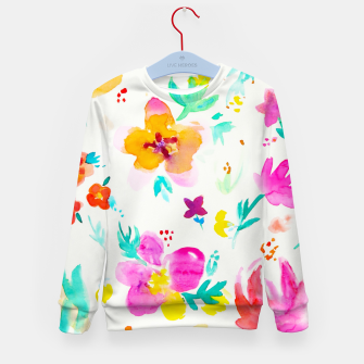 Thumbnail image of A Little Tropical Kid's Sweater, Live Heroes