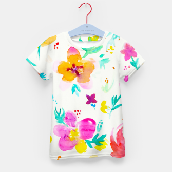 Thumbnail image of A Little Tropical Kid's T-shirt, Live Heroes
