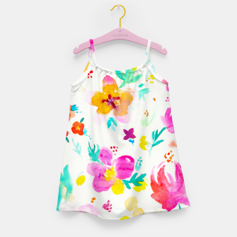 Thumbnail image of A Little Tropical Girl's Dress, Live Heroes