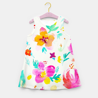 Thumbnail image of A Little Tropical Girl's Summer Dress, Live Heroes