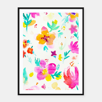 Thumbnail image of A Little Tropical Framed poster, Live Heroes