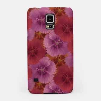 Thumbnail image of Triple Color Florals Samsung Case, Live Heroes