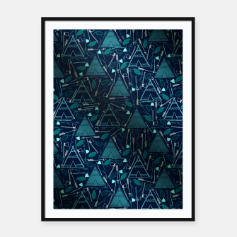 Thumbnail image of Triangle House Framed poster, Live Heroes