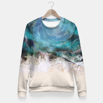 Thumbnail image of Sea Vortex Fitted Waist Sweater, Live Heroes