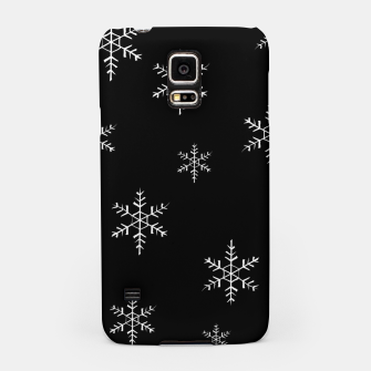 Thumbnail image of Snowflake b&w Samsung Case, Live Heroes