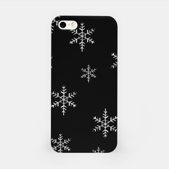 Thumbnail image of Snowflake b&w iPhone Case, Live Heroes