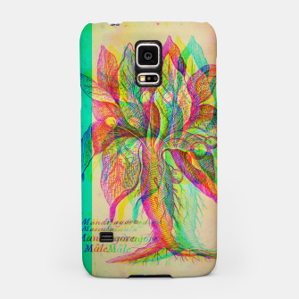 Thumbnail image of Mandragora Engraving Glitch Version Samsung Case, Live Heroes