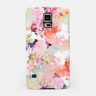Thumbnail image of Romantic Pink Teal Watercolor Chic Floral pattern Samsung Case, Live Heroes