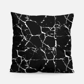 Thumbnail image of Black and White Textured Pattern Pillow, Live Heroes