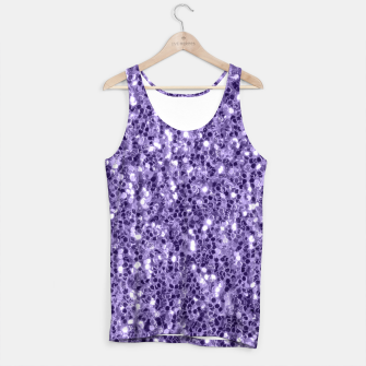 Thumbnail image of Ultra violet purple glitter sparkles Tank Top, Live Heroes