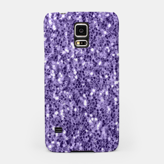 Thumbnail image of Ultra violet purple glitter sparkles Samsung Case, Live Heroes