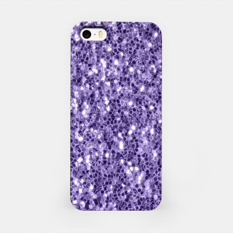 Thumbnail image of Ultra violet purple glitter sparkles iPhone Case, Live Heroes