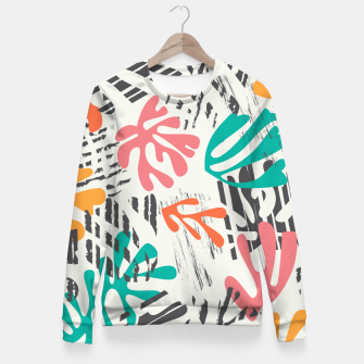 Thumbnail image of Matisse pattern 011 Fitted Waist Sweater, Live Heroes