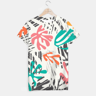 Thumbnail image of Matisse pattern 011 T-shirt, Live Heroes