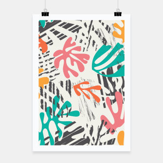 Thumbnail image of Matisse pattern 011 Poster, Live Heroes