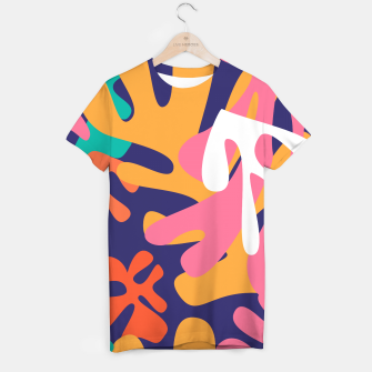 Thumbnail image of Matisse pattern 010 T-shirt, Live Heroes