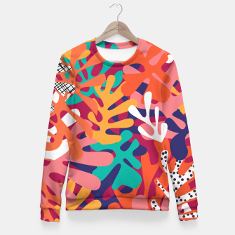 Thumbnail image of Matisse pattern 006 Fitted Waist Sweater, Live Heroes