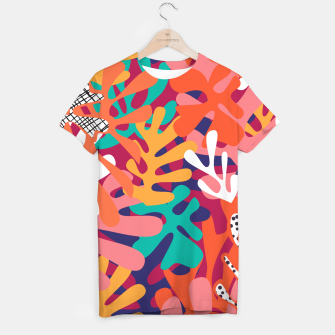 Thumbnail image of Matisse pattern 006 T-shirt, Live Heroes