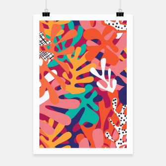 Thumbnail image of Matisse pattern 006 Poster, Live Heroes