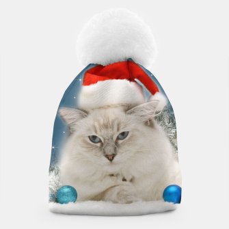 Thumbnail image of Merry Christmas Grumpy Cat Gorro, Live Heroes