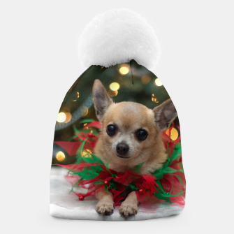 Thumbnail image of Merry Christmas Chihuahua Dog Cute Gorro, Live Heroes