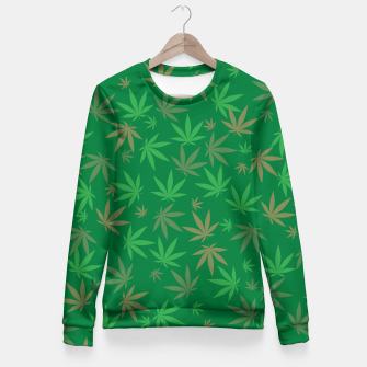 Thumbnail image of Falling Pot Fitted Waist Sweater, Live Heroes