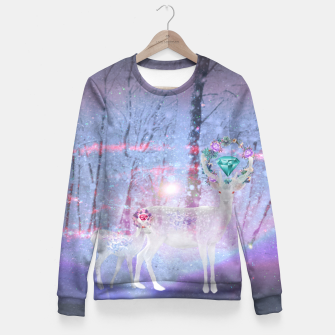 Thumbnail image of Forest of Endless  Dreams Fitted Waist Sweater, Live Heroes