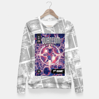 Thumbnail image of Quantum Tales 1st Issue Fitted Waist Sweater, Live Heroes